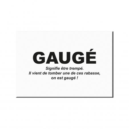 Gaugé