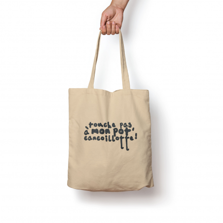 Tote Bag Touche pas…